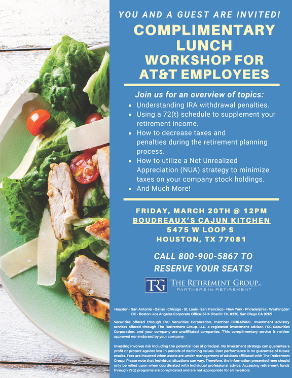 Boudreauxs Lunch Workshop 3-20-20